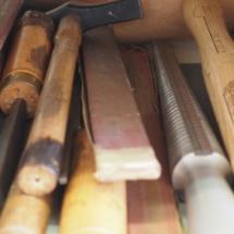 marteau, triboulet, maillet, papier émir